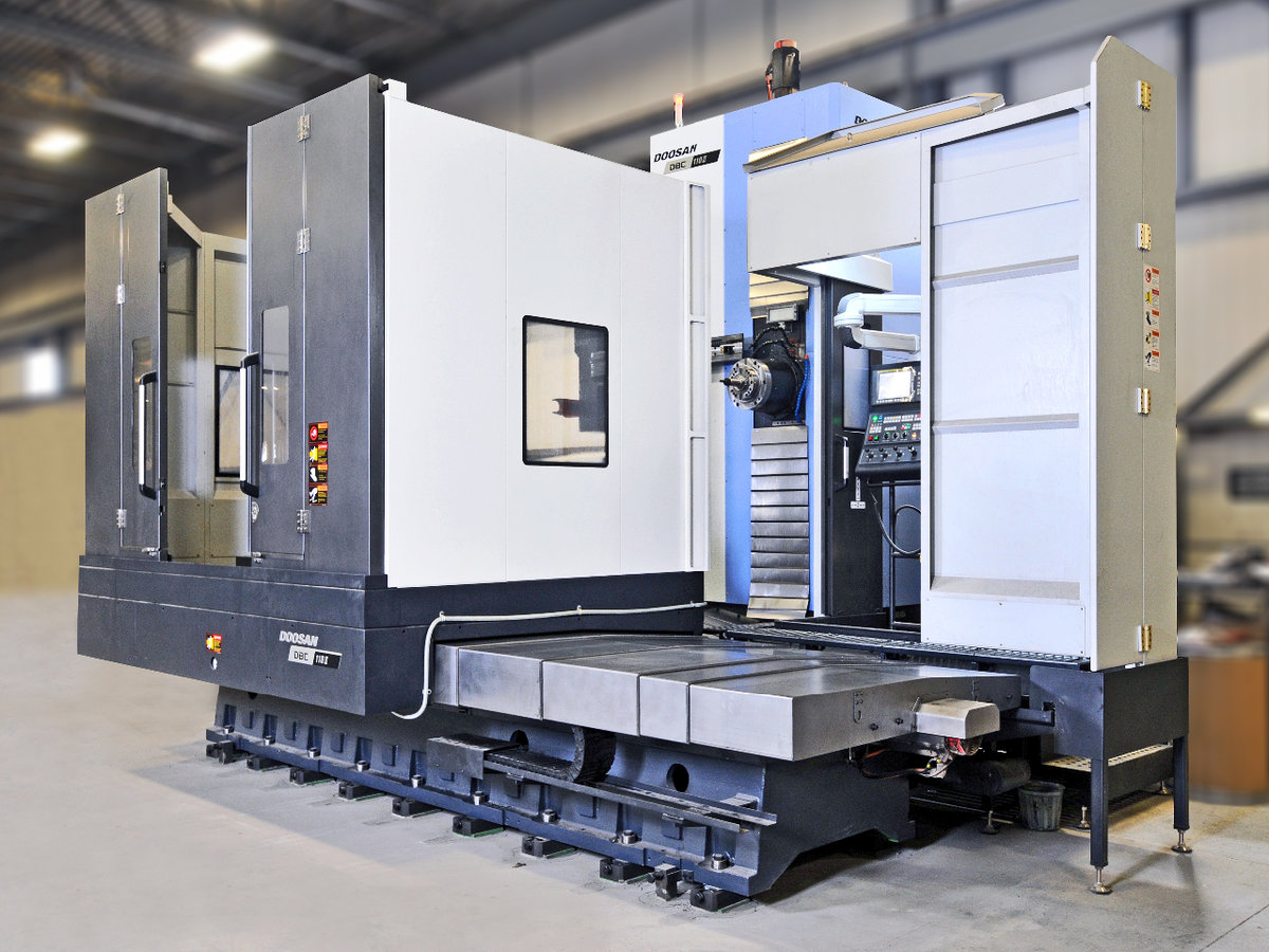 Horizontal CNC Boring Mill