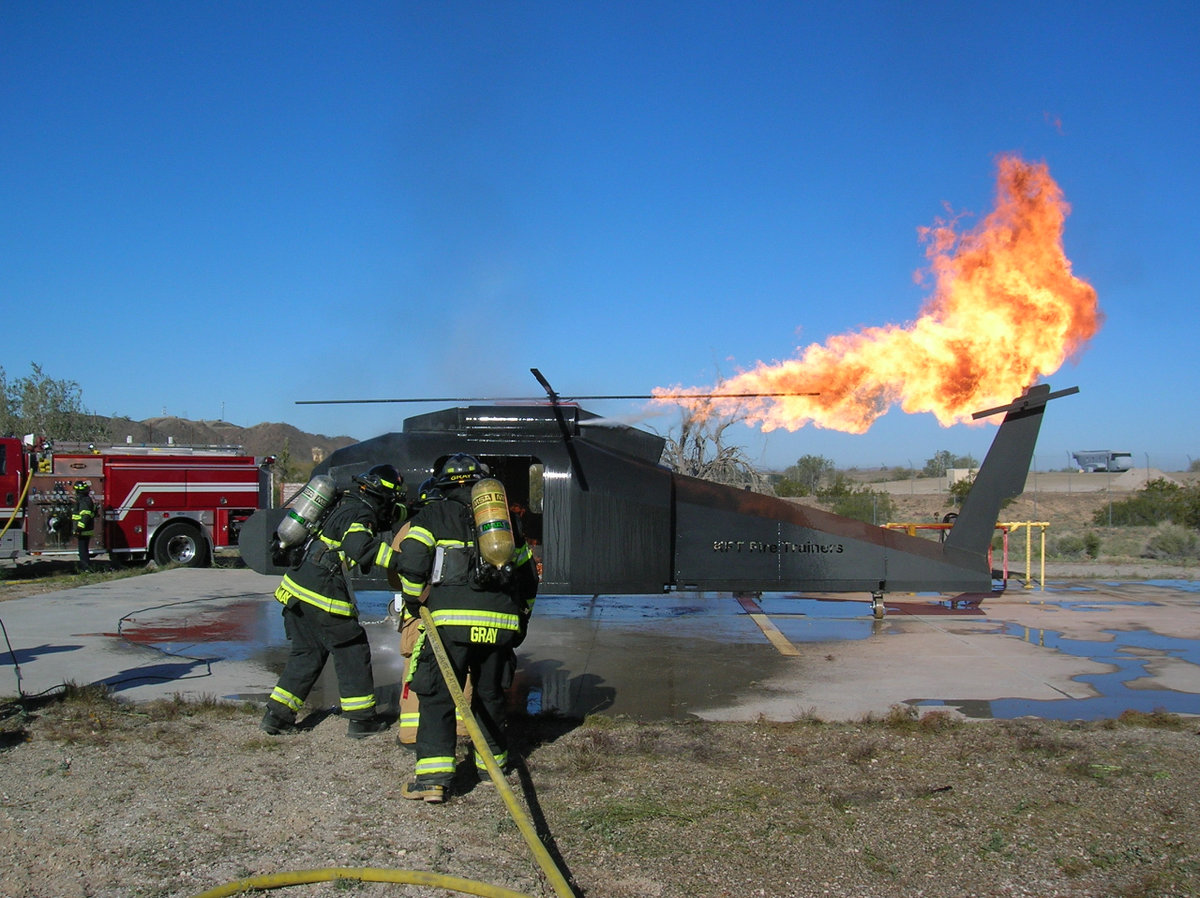 Helicopter Fire Training